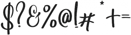 Angelina Dots otf (400) Font OTHER CHARS