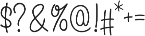 Angelique Rose Regular otf (400) Font OTHER CHARS
