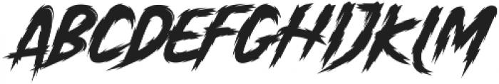 Anger Bae otf (400) Font LOWERCASE
