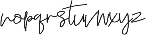 Anggeliana otf (400) Font LOWERCASE