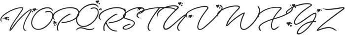 Anggrek Regular otf (400) Font UPPERCASE