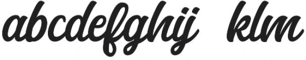 Anghones otf (400) Font LOWERCASE