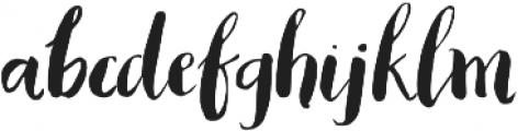 AngieMakes Blacksheep Italic otf (900) Font LOWERCASE