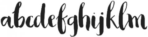 AngieMakes Blacksheep otf (900) Font LOWERCASE