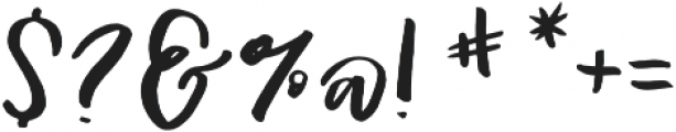 AngieMakes Dahlia Darling otf (400) Font OTHER CHARS