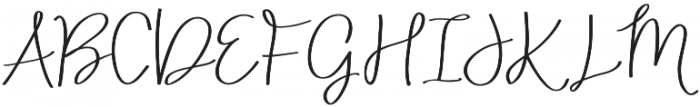 AngieMakes Fandangle Bold otf (700) Font UPPERCASE