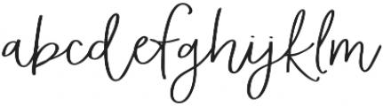 AngieMakes Fandangle Bold otf (700) Font LOWERCASE