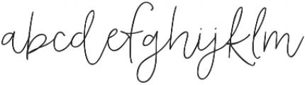 AngieMakes Fandangle otf (400) Font LOWERCASE