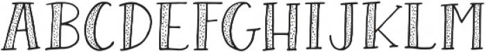 AngieMakes Hoodwink Dotty otf (400) Font LOWERCASE