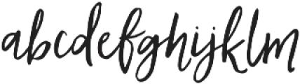 AngieMakes Ladyfinger otf (400) Font LOWERCASE