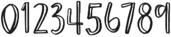AngieMakes Okey Doke otf (400) Font OTHER CHARS