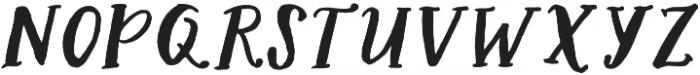 AngieMakes Seafair Italic otf (400) Font LOWERCASE