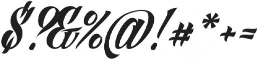 Angilla Tattoo ttf (400) Font OTHER CHARS