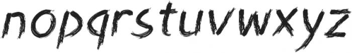 Angilliac Italic otf (400) Font LOWERCASE