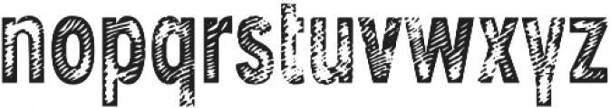 Angostura Wood otf (400) Font LOWERCASE