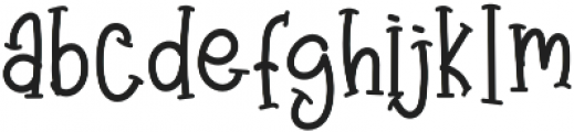 Angry&Hungry otf (400) Font LOWERCASE