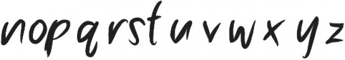 Anhinga ttf (400) Font LOWERCASE