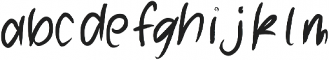 AnhingaAlternates ttf (400) Font LOWERCASE