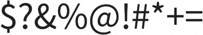 Anima otf (300) Font OTHER CHARS