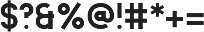 Animosa Bold otf (700) Font OTHER CHARS