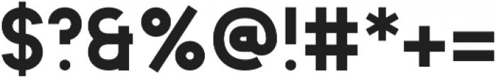 Animosa Extra Bold otf (700) Font OTHER CHARS