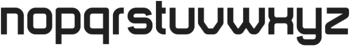Animus Bold otf (700) Font LOWERCASE