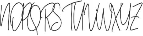 Anisaly otf (400) Font UPPERCASE