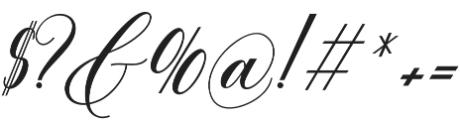 Anitha otf (400) Font OTHER CHARS