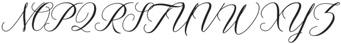 Anitha otf (400) Font UPPERCASE