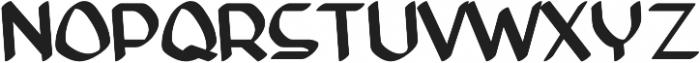 Anity otf (400) Font UPPERCASE