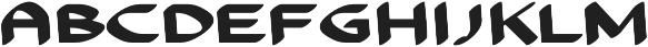 Anity otf (400) Font LOWERCASE