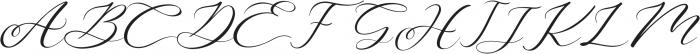 Aniyah otf (400) Font UPPERCASE