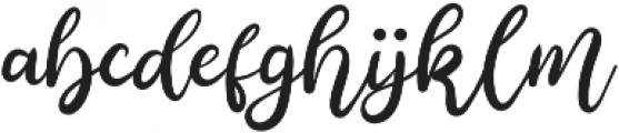 Anjellic otf (400) Font LOWERCASE