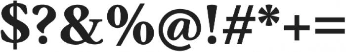 Anko otf (700) Font OTHER CHARS