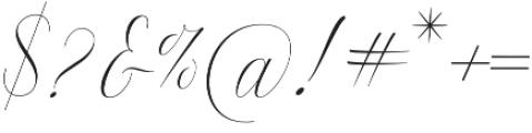 Anna Marrie Regular otf (400) Font OTHER CHARS
