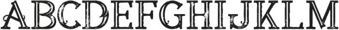 Annabel Bold Inline Grunge 1 otf (700) Font LOWERCASE