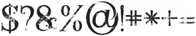 Annabel grunge 1 otf (400) Font OTHER CHARS