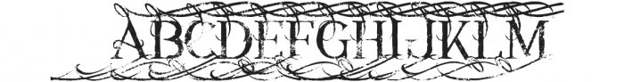 Annabel grunge 1 otf (400) Font UPPERCASE