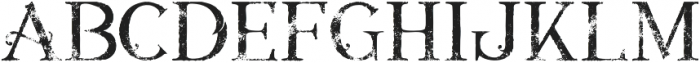 Annabel grunge 1 otf (400) Font LOWERCASE