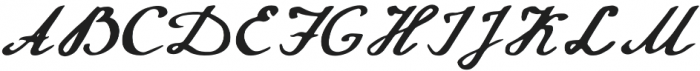 Annabel otf (400) Font UPPERCASE