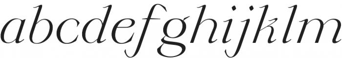 Annex otf (400) Font LOWERCASE