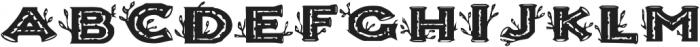 AnniesBirchCaps ttf (400) Font LOWERCASE