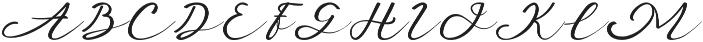 Anniversa 10 otf (400) Font UPPERCASE