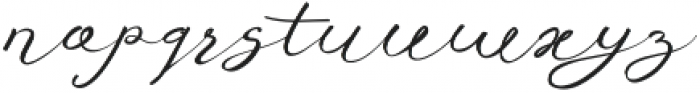 Anniversa 10 otf (400) Font LOWERCASE