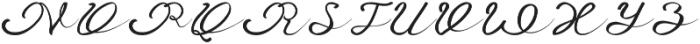 Anniversa Pro otf (400) Font UPPERCASE