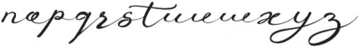 Anniversa Pro otf (400) Font LOWERCASE