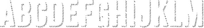 Anodyne Shadow otf (400) Font UPPERCASE