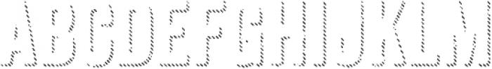 Anodyne Shadow otf (400) Font LOWERCASE
