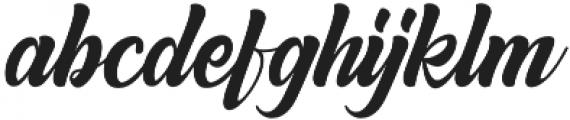 Anordighos Regular otf (400) Font LOWERCASE
