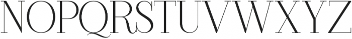 Another Collection Serif Regular otf (400) Font UPPERCASE